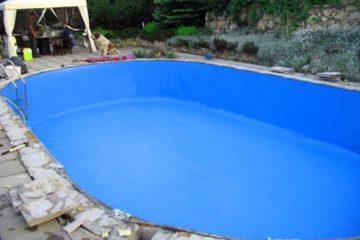 Schwimmbadfolie